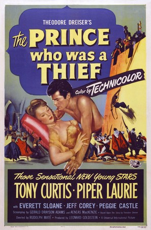 The Prince Who Was a Thief - Movie Poster (thumbnail)