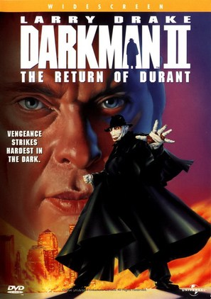 Darkman II: The Return of Durant - DVD movie cover (thumbnail)