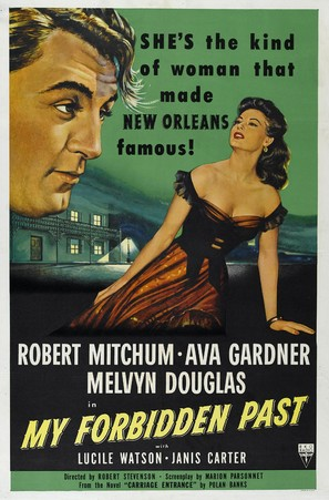 My Forbidden Past - Movie Poster (thumbnail)