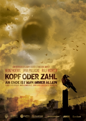 Kopf oder Zahl - German Movie Poster (thumbnail)
