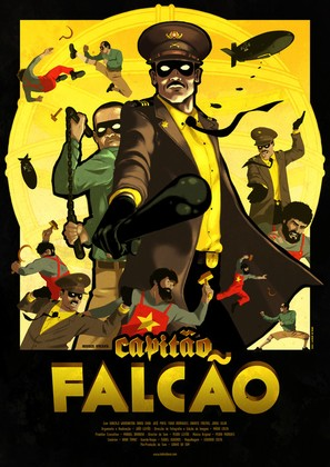 Capitão Falcão - Portuguese Movie Poster (thumbnail)