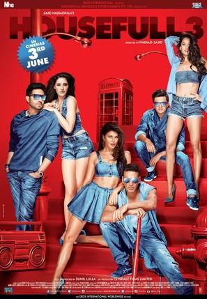 Housefull 3 - Indian Movie Poster (thumbnail)
