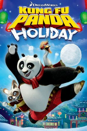 Kung Fu Panda Holiday - DVD movie cover (thumbnail)