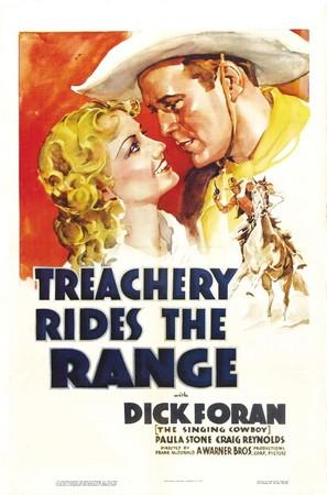 Treachery Rides the Range - Movie Poster (thumbnail)