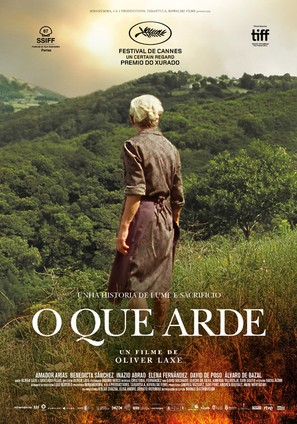 O que arde - Spanish Movie Poster (thumbnail)