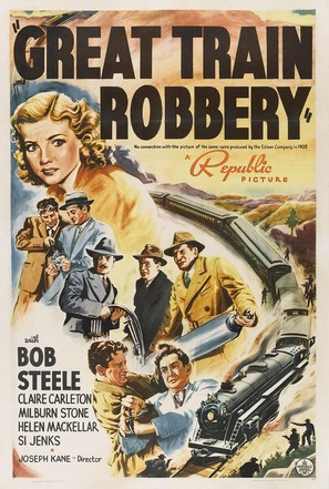 The Great Train Robbery - Movie Poster (thumbnail)