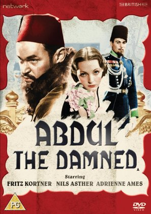 Abdul the Damned - British DVD movie cover (thumbnail)