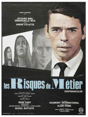 Les risques du métier - French Movie Poster (thumbnail)