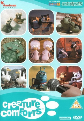 """Creature Comforts"" - British DVD cover (thumbnail)"