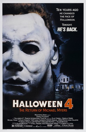 Halloween 4: The Return of Michael Myers - Movie Poster (thumbnail)