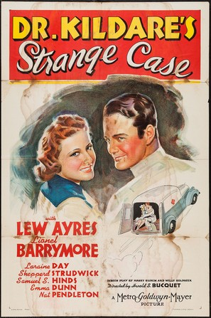 Dr. Kildare's Strange Case - Movie Poster (thumbnail)