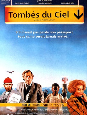 Tombés du ciel - French Movie Poster (thumbnail)