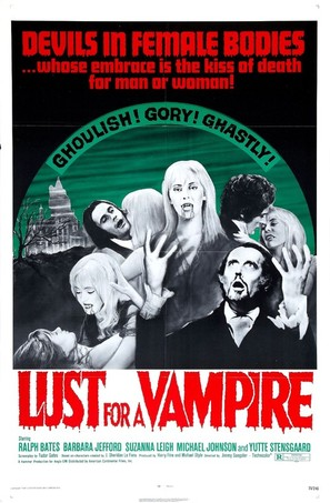 Lust for a Vampire - Movie Poster (thumbnail)