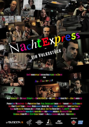 Nachtexpress - Swiss Movie Poster (thumbnail)