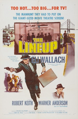 The Lineup - Movie Poster (thumbnail)