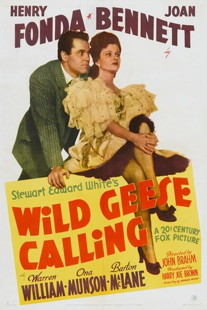 Wild Geese Calling - Movie Poster (thumbnail)