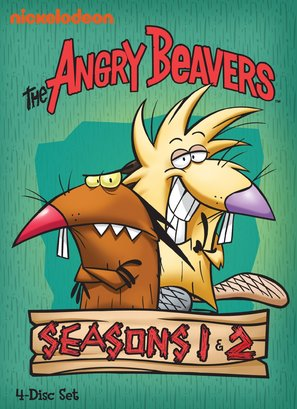 """The Angry Beavers"" - DVD movie cover (thumbnail)"