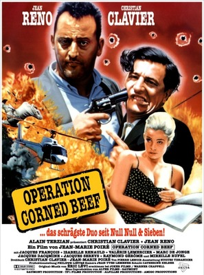 Opération Corned-Beef, L' - German Movie Poster (thumbnail)