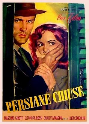 Persiane chiuse - Italian Movie Poster (thumbnail)