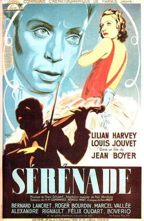 Sérénade - French Movie Poster (thumbnail)