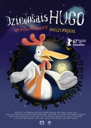 Dziedosais Hugo un vina neticamie piedzivojumi - Latvian Movie Poster (thumbnail)