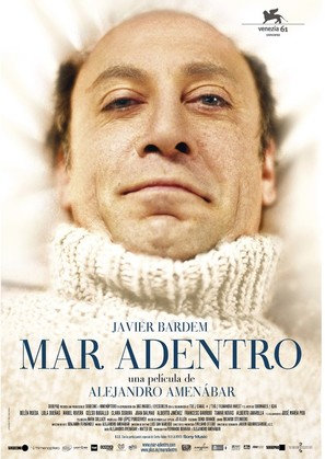 Mar adentro - Spanish Movie Poster (thumbnail)