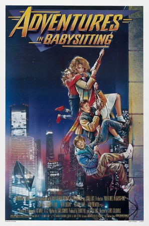 Adventures in Babysitting - Theatrical movie poster (thumbnail)