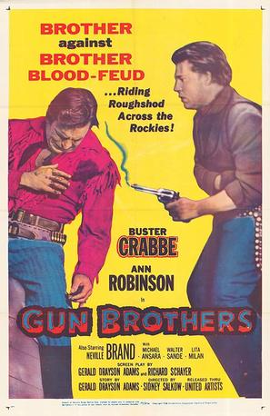 Gun Brothers - Movie Poster (thumbnail)