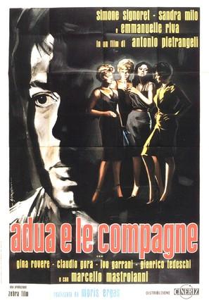 Adua e le compagne - Italian Movie Poster (thumbnail)
