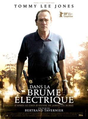 In the Electric Mist - French Movie Poster (thumbnail)