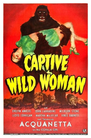Captive Wild Woman - Movie Poster (thumbnail)