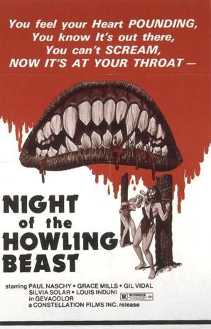 La maldición de la bestia - Movie Poster (thumbnail)