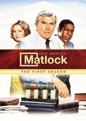 """Matlock"" - DVD movie cover (thumbnail)"