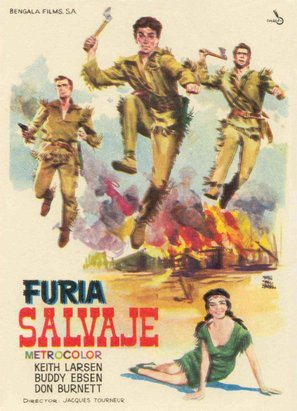 Fury River - Spanish Movie Poster (thumbnail)