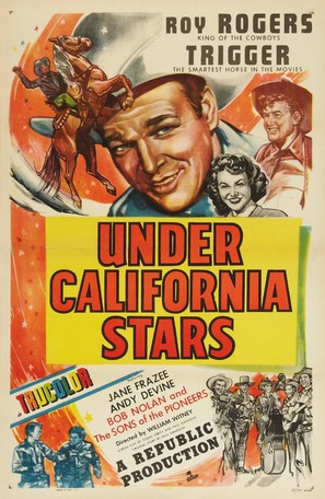 Under California Stars - Movie Poster (thumbnail)