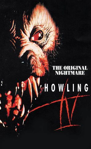 Howling IV: The Original Nightmare - British VHS cover (thumbnail)