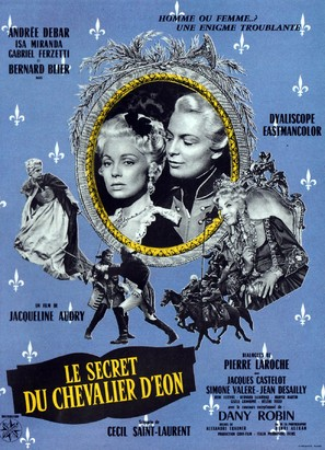 Le secret du Chevalier d'Éon - French Movie Poster (thumbnail)