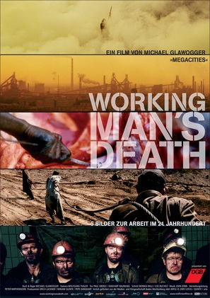 Workingman's Death - German Movie Poster (thumbnail)