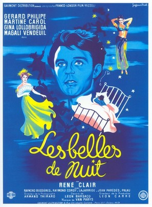 Les belles de nuit - French Movie Poster (thumbnail)