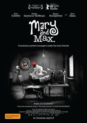 Mary and Max - Australian Movie Poster (thumbnail)