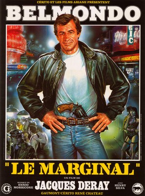 Marginal, Le - French Movie Poster (thumbnail)
