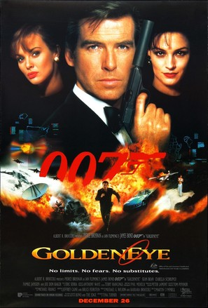 GoldenEye - Australian Movie Poster (thumbnail)