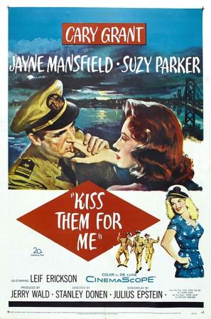 Kiss Them for Me - Movie Poster (thumbnail)