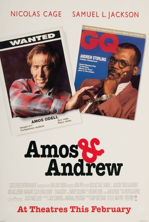 Amos & Andrew - Advance movie poster (thumbnail)