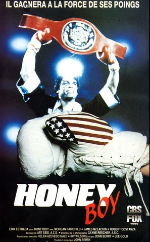 Honeyboy - French VHS movie cover (thumbnail)