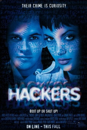 Hackers - Movie Poster (thumbnail)