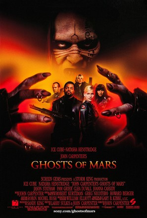 Ghosts Of Mars - Movie Poster (thumbnail)