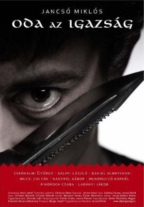 Oda az igazság - Hungarian Movie Poster (thumbnail)