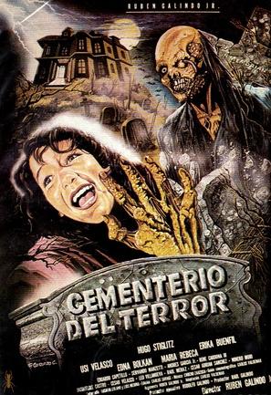 Cementerio del terror - Mexican Movie Poster (thumbnail)