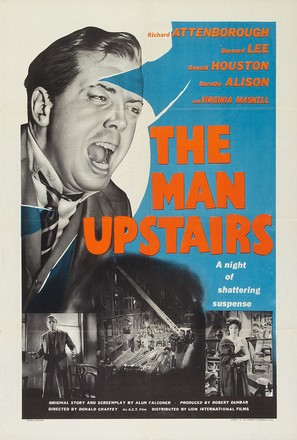 The Man Upstairs - British Movie Poster (thumbnail)